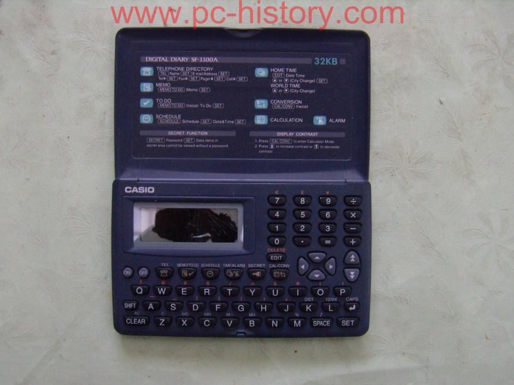 Casio Digital Diary SF-3300A