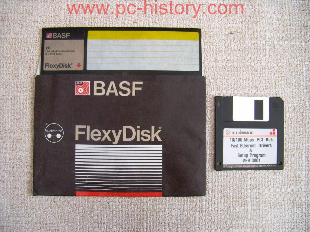 "Diskette BASF 8"" 2D"