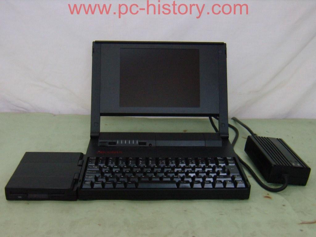 ES COM notebook blackmate 386SX III