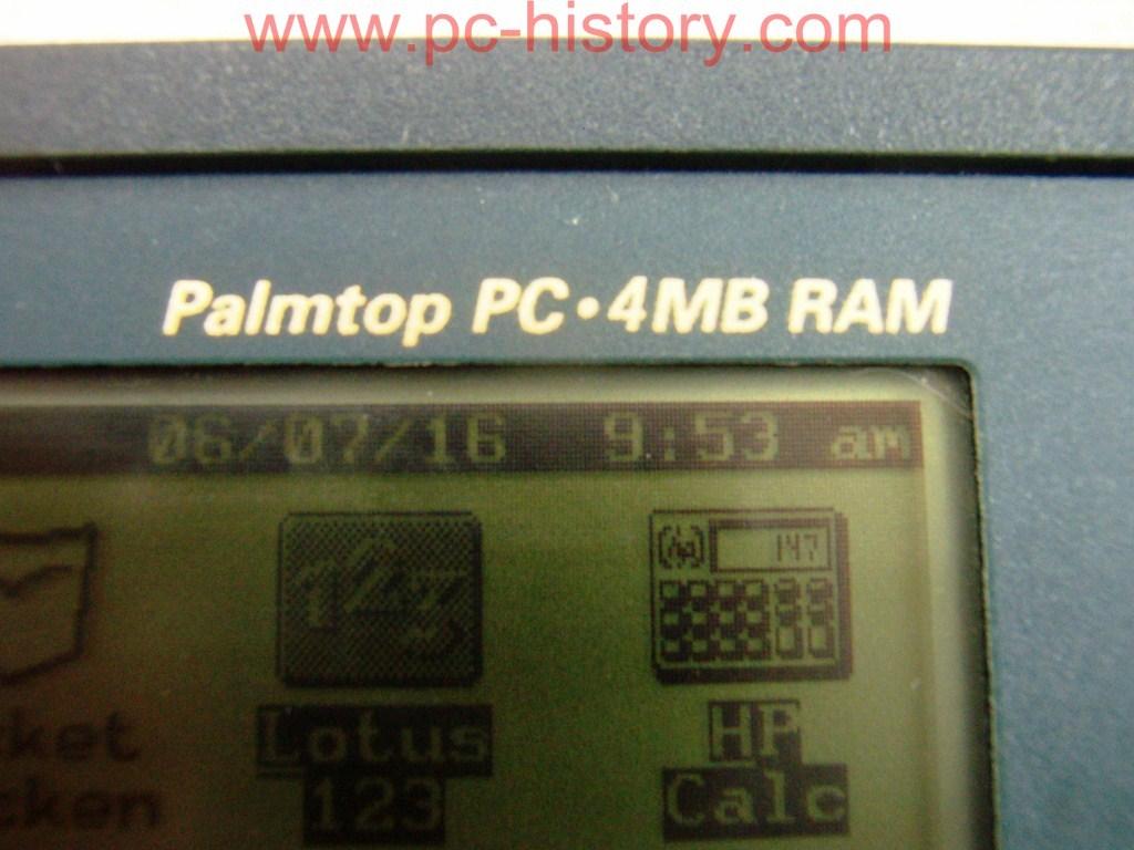 Datoru Muzejs 187 Pda Hp Palmtop 200lx