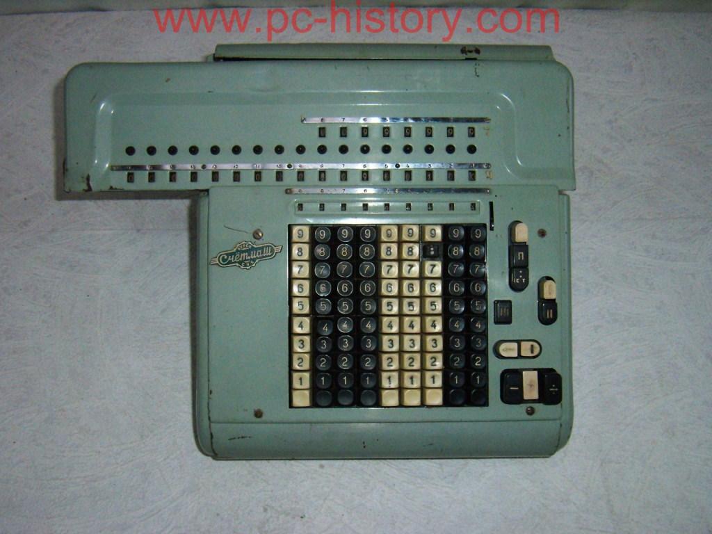 Mehāniskais Kalkulators Schetmash