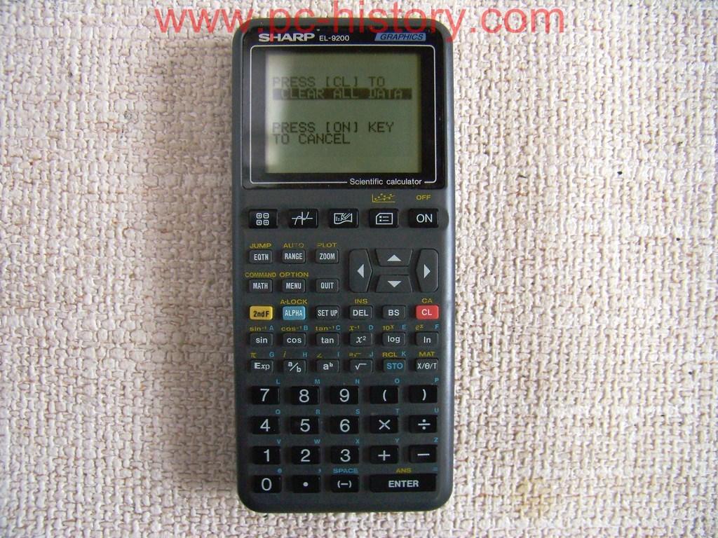 Sharp EL9200