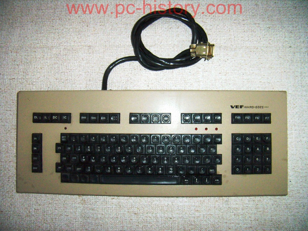 Klaviatūra VEF Mikro 6025