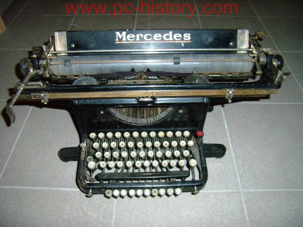 Mashinkā rakstāmmašīna Mercedes