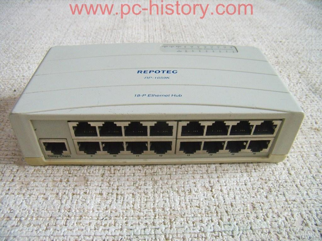 Repotec Ethernet hub RP-1659K