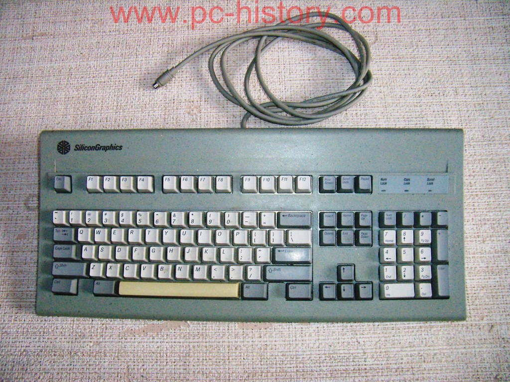 Silicon-Graphics Indy keyboard