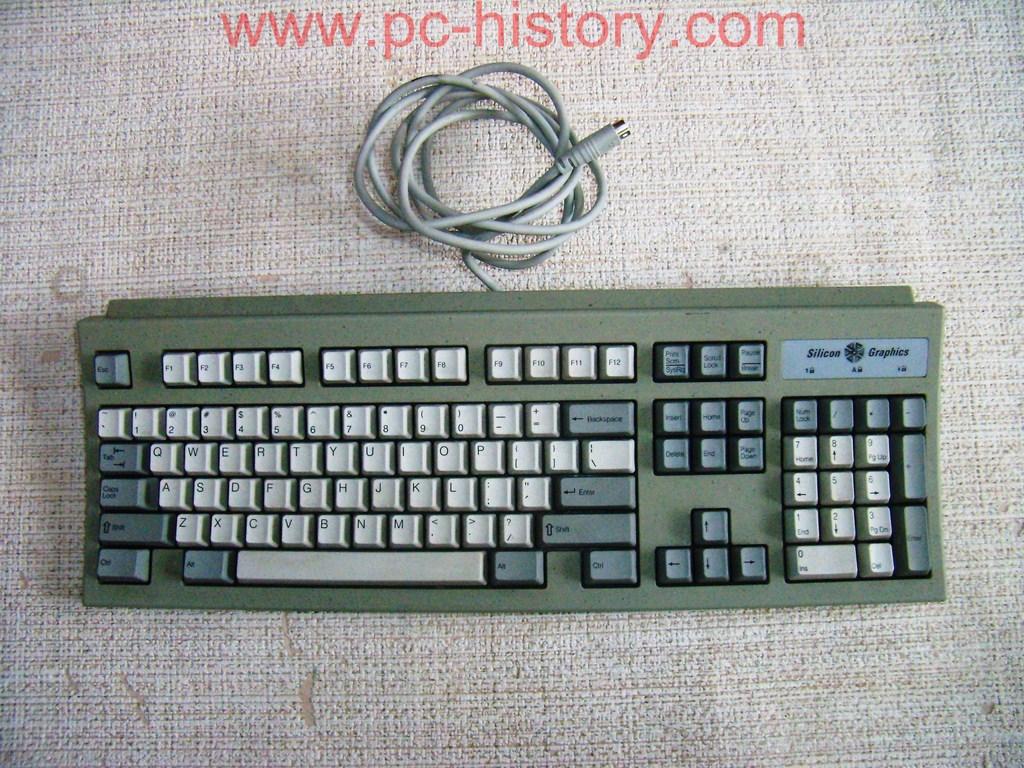 Klaviatūra Silicon-Graphics