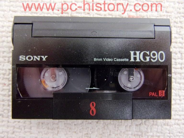 Sony video 8mm kassette