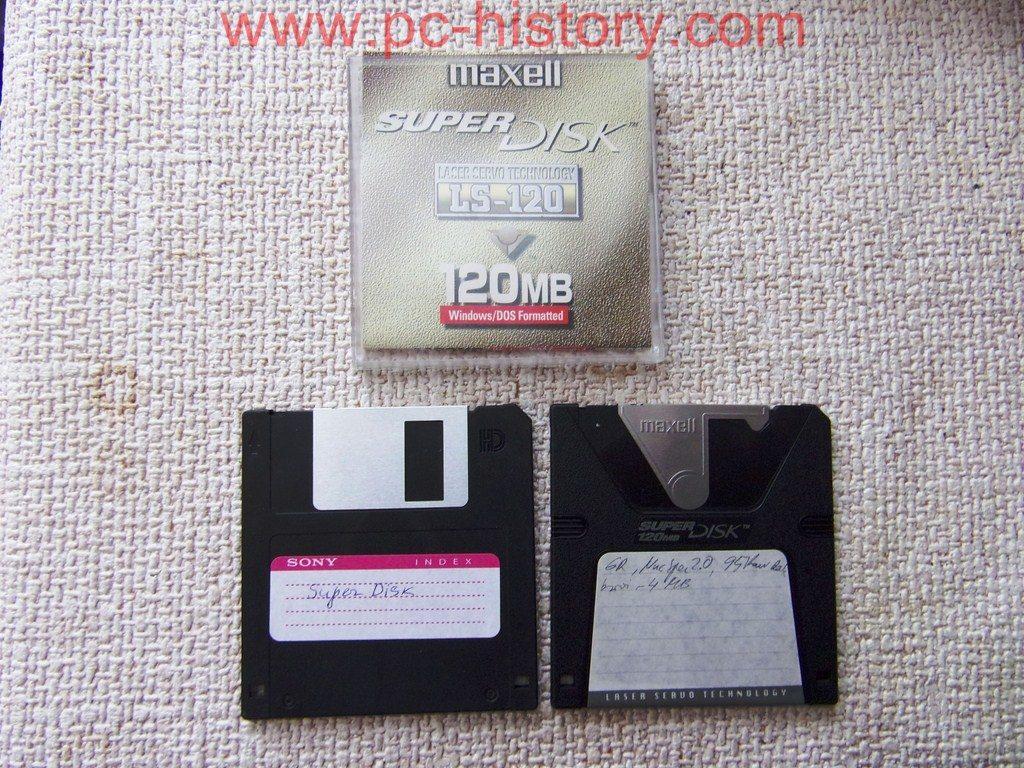 SuperDisk LS120