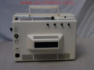 """Переносной, малогабаритный чёрно-белый телевизор  """"Сапфир-412 """" выпускался с 1983 года на Рязанском заводе  """"Красное..."""