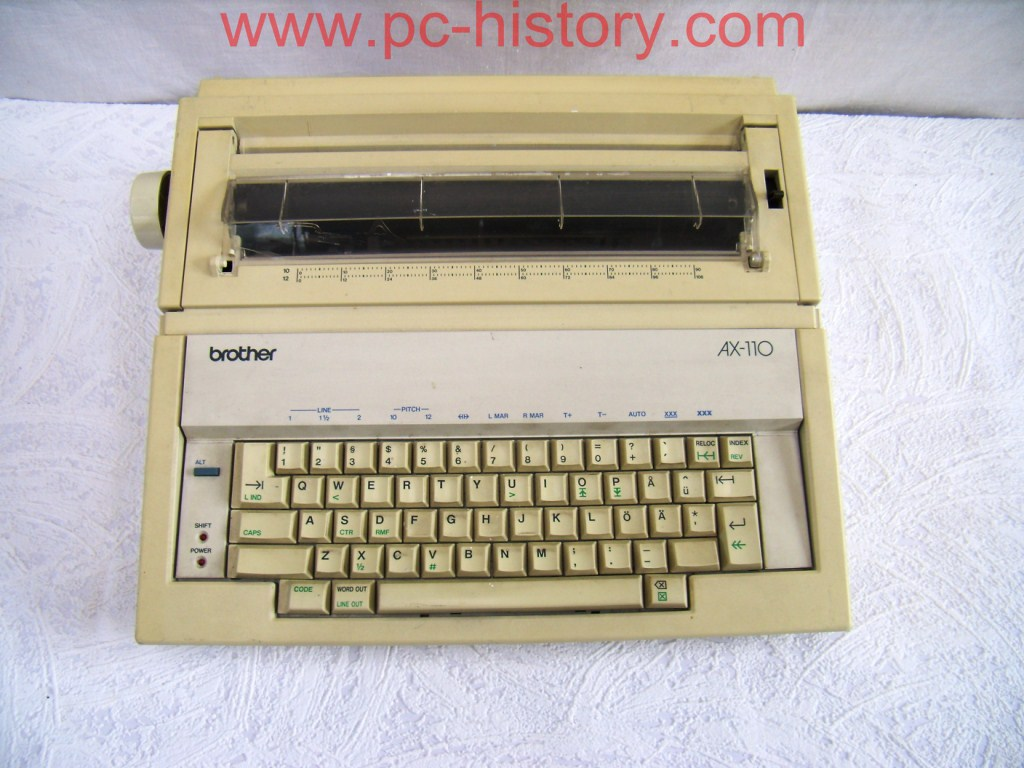 Tipewriter Brother AX-110