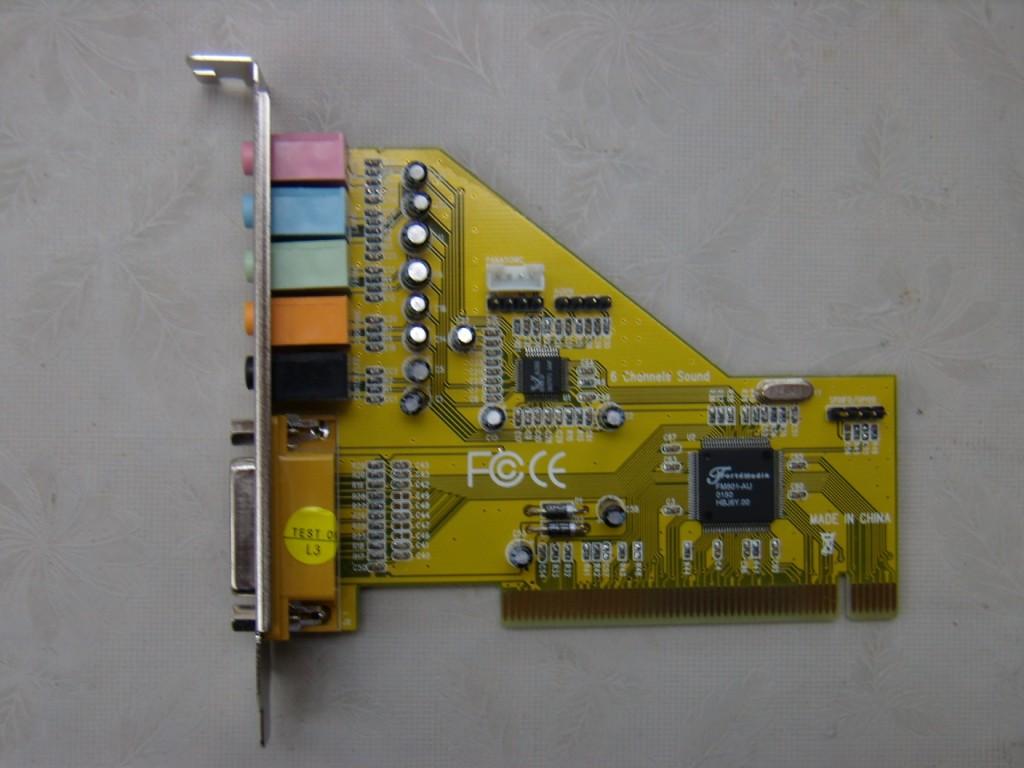 Fm801 sound card