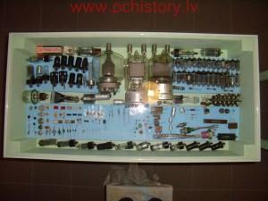 Muzeja vitrina 1